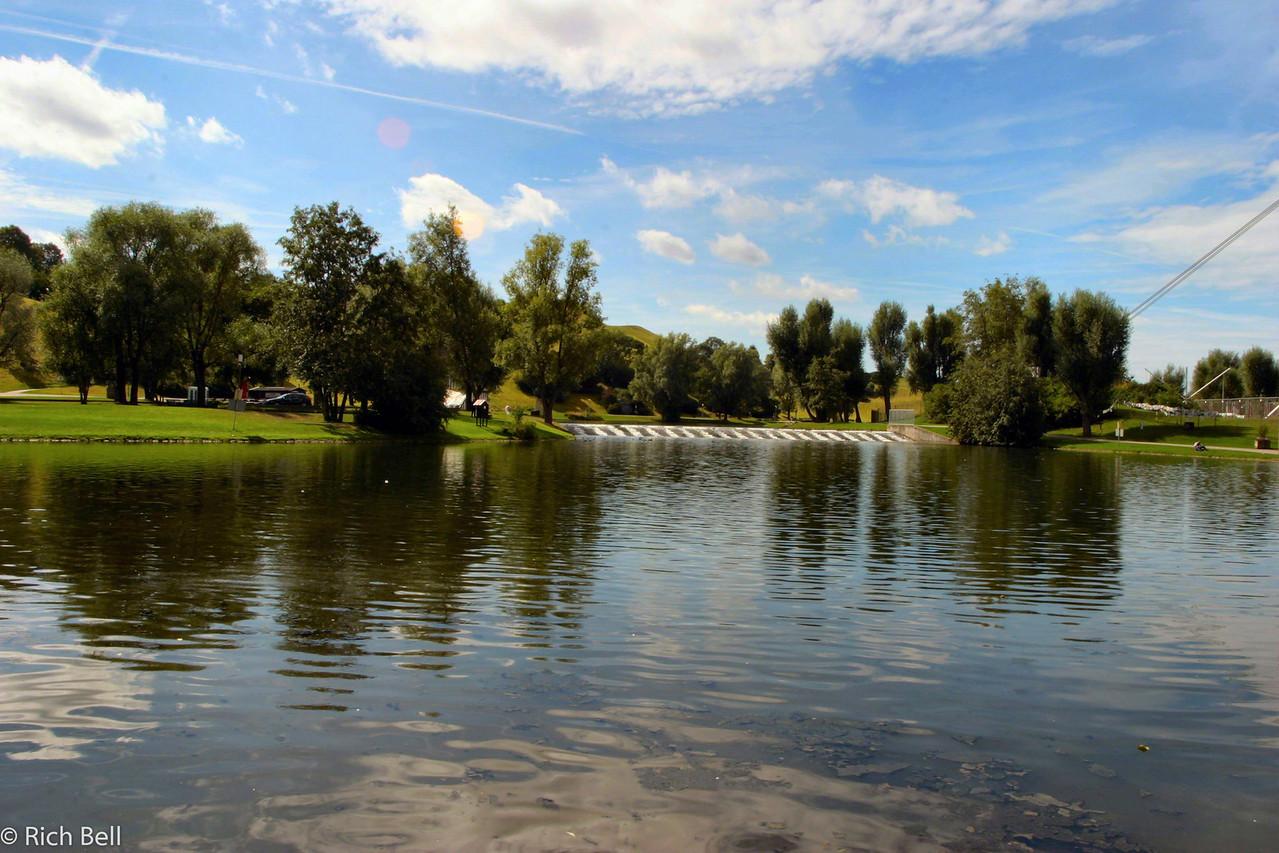 20040913Olympic Park lake Munich Germany0077