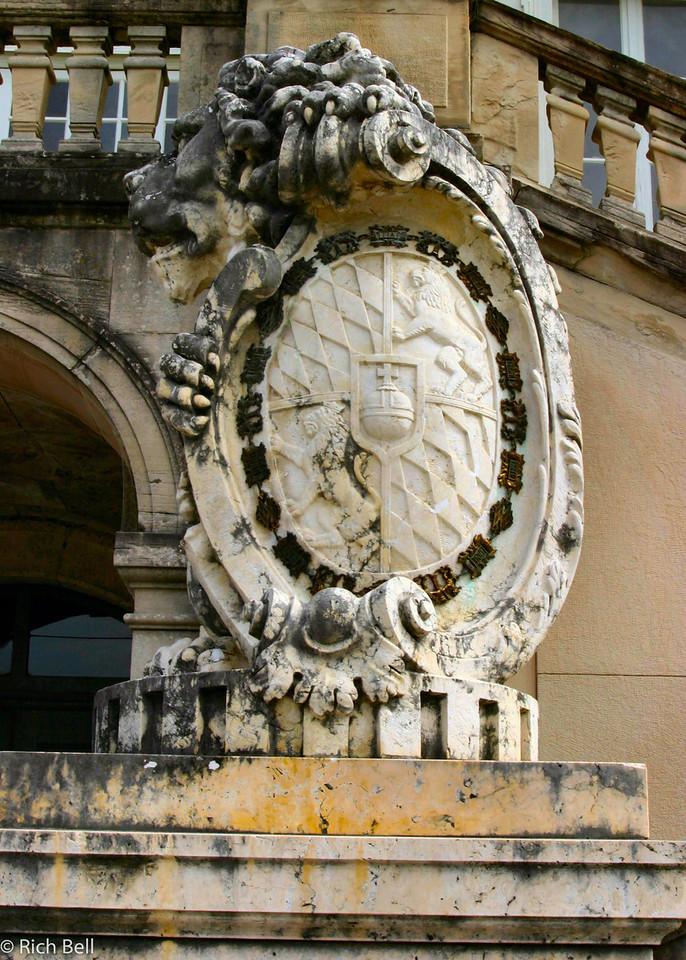20040913Nymphenburg Palace posts Munich Germany 30094