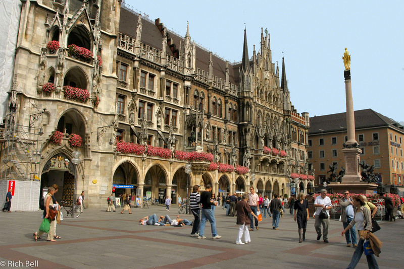 20040913Marienplatz Munich Germany A0100