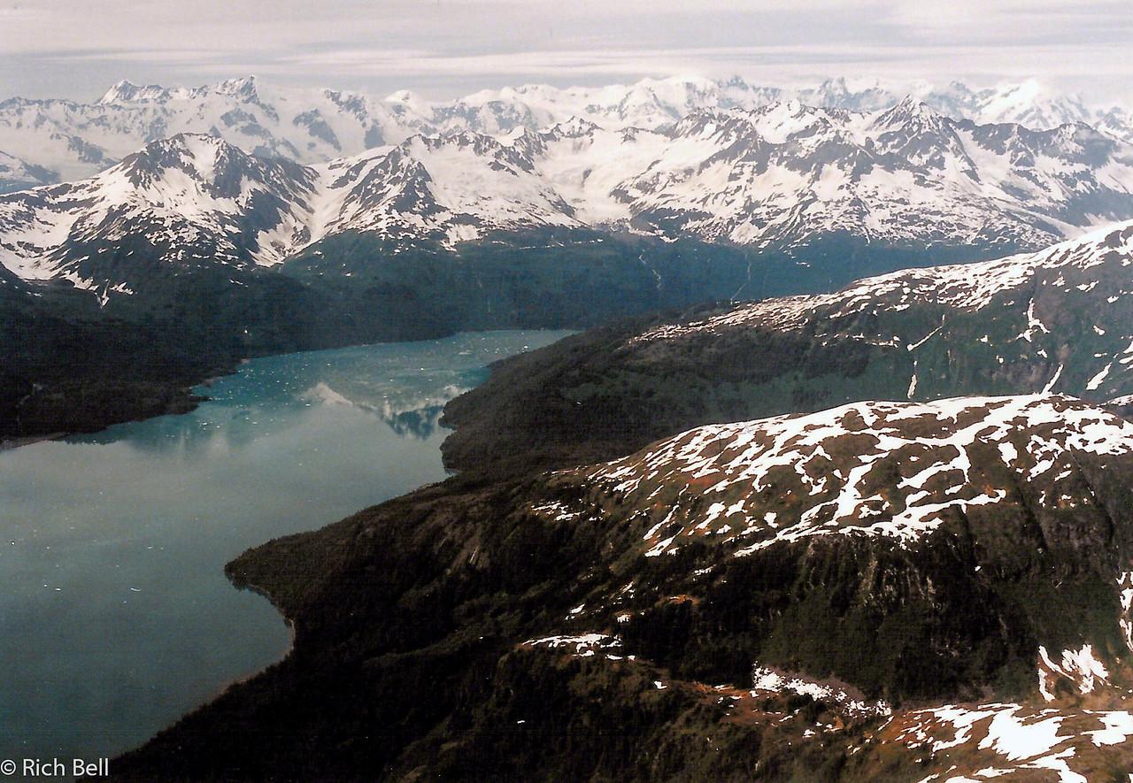 20100721Alaska Glaciers over William Sound0098