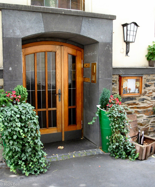 20040915Door in Boppard Germany on the Rhine River0143
