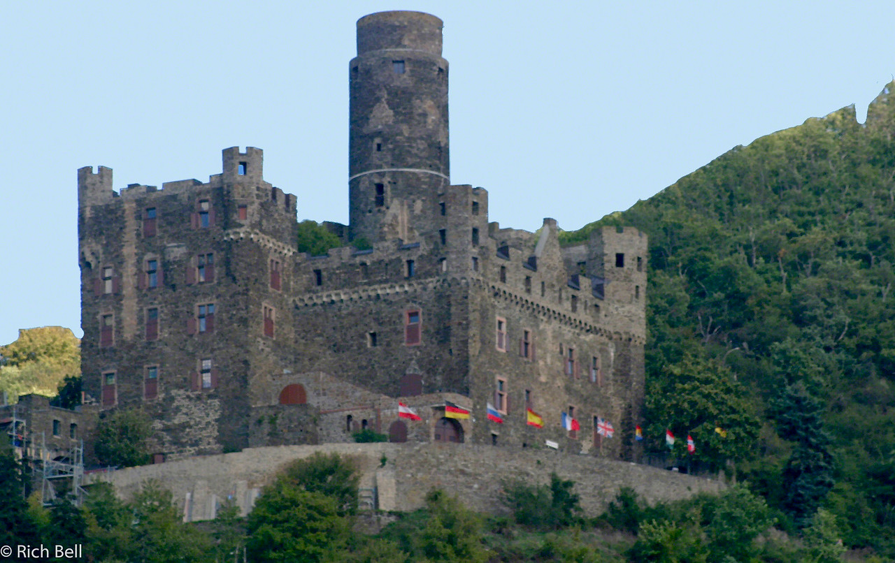 20040915Rheinfels Castle on the Rhine River Germany B0155