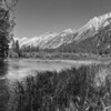 Robinsons Creek Meets Upper Twin Lake - Eastern Sierra Mountains, Calif.