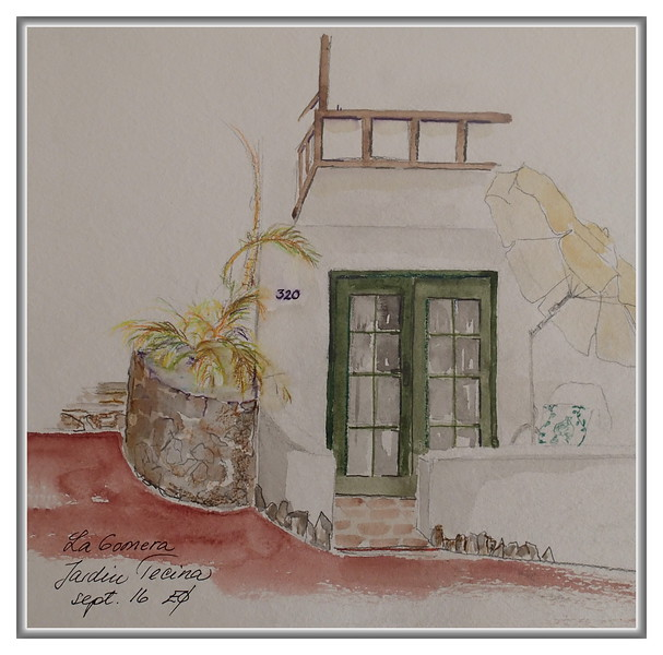 La Gomera 2016 - Jardin Tecina