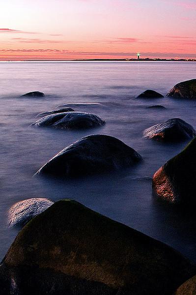 stenar och fyrblänk