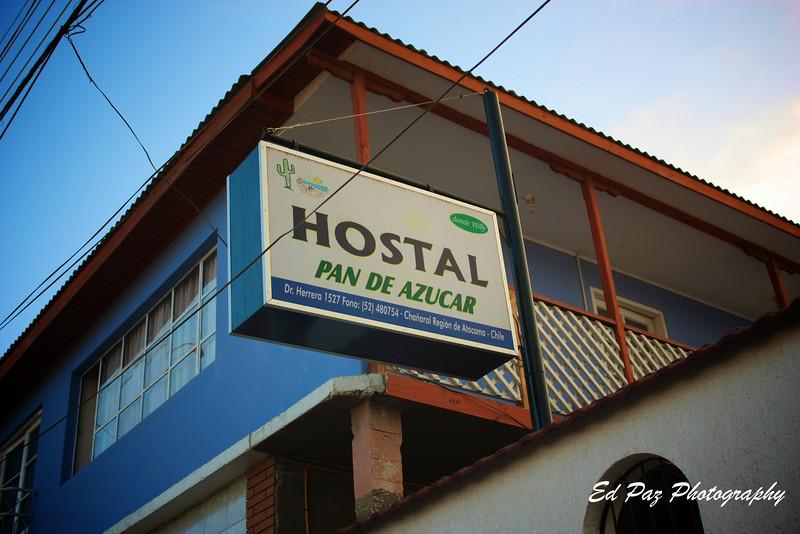 Inn Pan De Azucar in Chañaral, this is a gret place to stay,  clean and affordable.            Hostal Pan de Azucar en Chañaral, un buen lugar para quedarce, limpio y barato (precio)