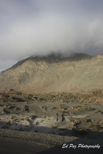 Road to Chañaral, you can see the Desierto Florido in the hill. <br /> <br /> Camino a Chañaral,  Se nota un poco el desierto florido (en la montaña)