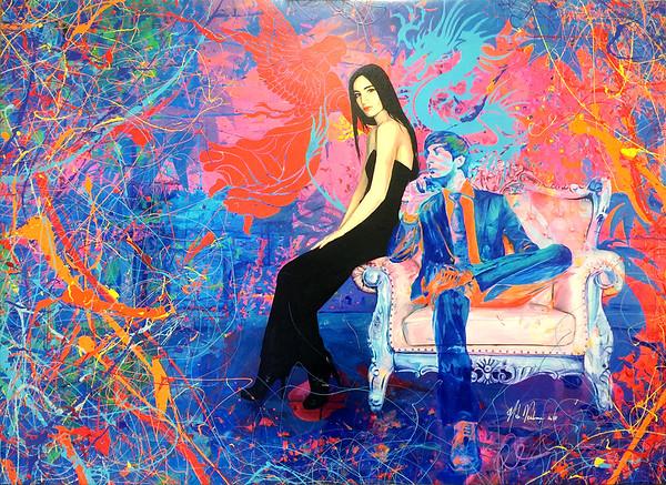 Acrylique sur toile