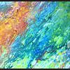 Acrylique et encres sur toile