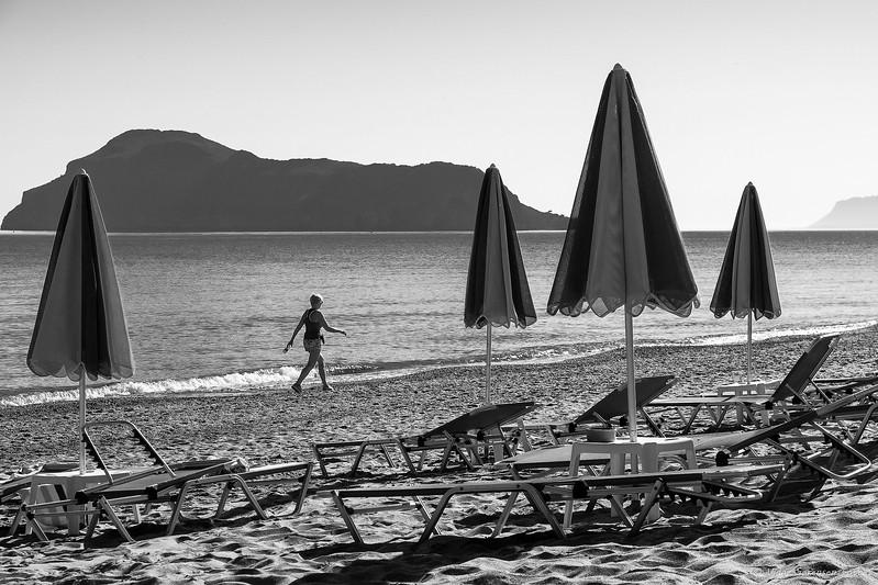 En tur på stranden