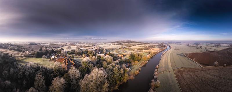 Malverns and River Severn - Winter 2019 -  by Jan Sedlacek - www.digitlight.co.uk