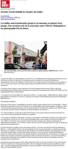Jérémie Nassif rhabille les façades des halles