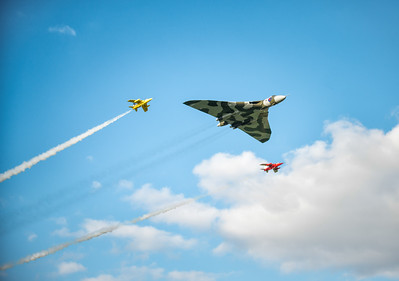 Vulcan with two gnats