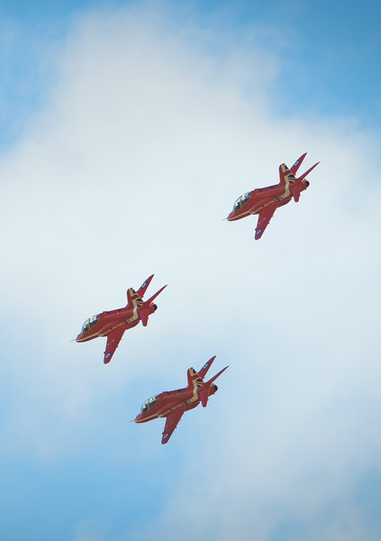 Three Red Arrows