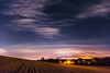 Malvern at night from powick-Edit