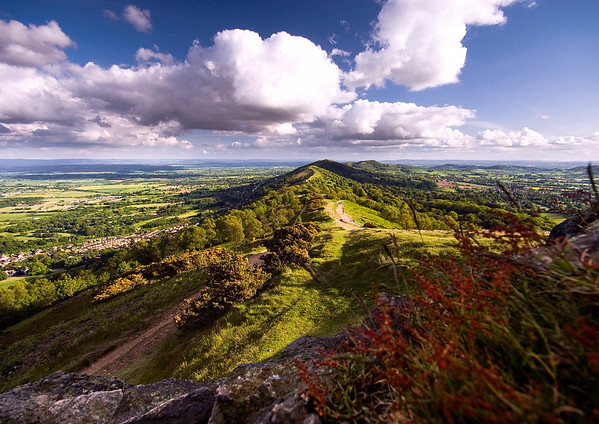 Late Spring View from Perseverance Hill, Malvern Hills