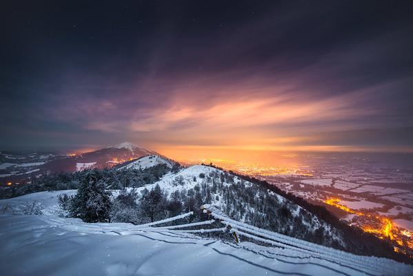 Winter Nights on Malvern Hills