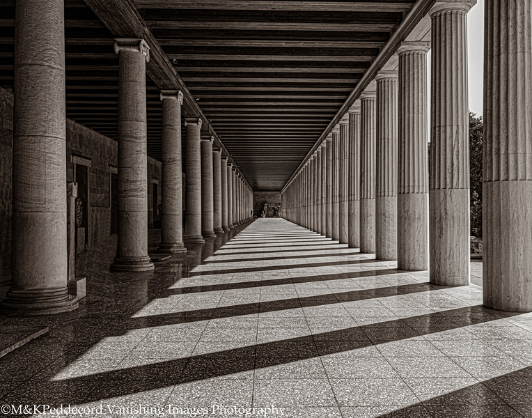 Vanishing Point with Shadows