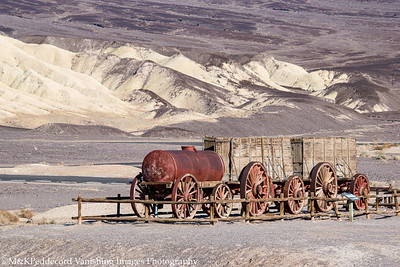 20 mule team wagons  @ Borax Works  BW# 21