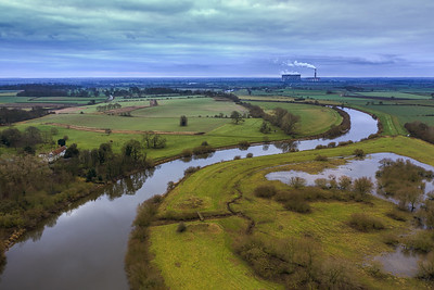 River Trent at knaith lincolnshire
