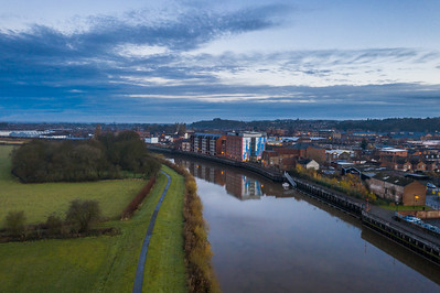 River Trent Gainsborough Lincolnshire