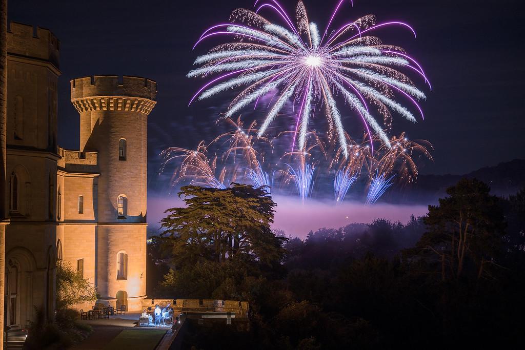 Eastnor Fireworks - 1st display