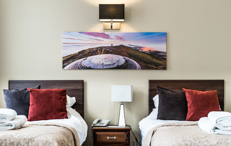 Great Malvern Hotel - New Artwork