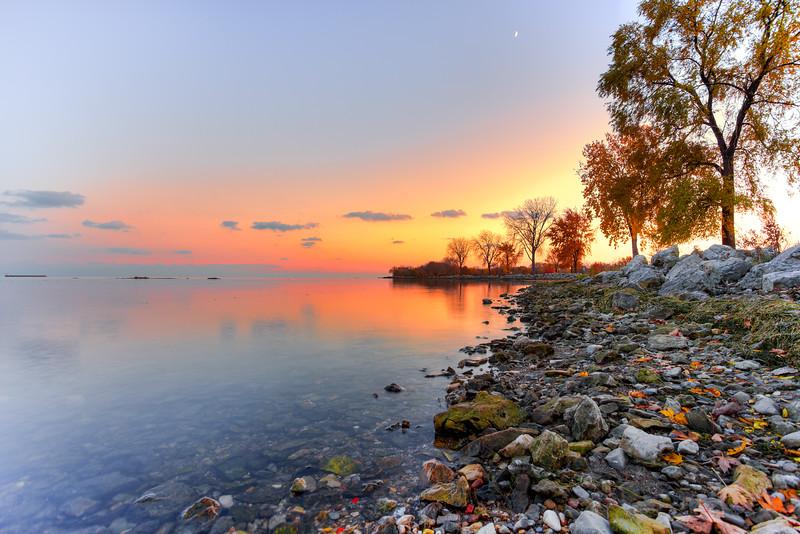 Peacefulness of nature: Lake Erie