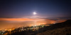 Moonrise over Malvern