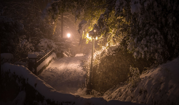Winter night in Narnia