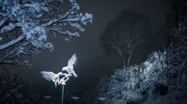 Winter night in Narnia