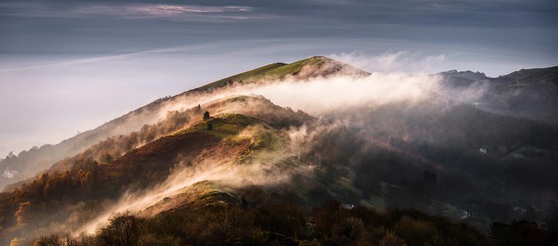 Walking the Misty Hills