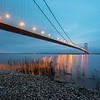 The Humber bridge sunrise