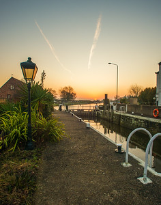 Torksey lock Lincolnshire