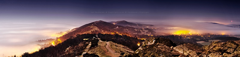 Malvern Hills at Night