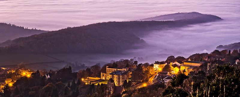 West Malvern After Sunset - St. James - Elim Conference Centre