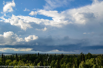 Waiting for Denali Behind Clouds