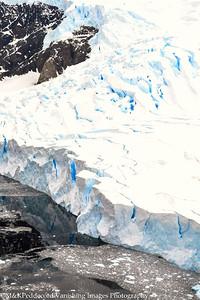 view of glacier from    Danco Island