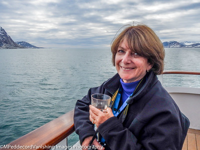 Cheers from Isfjord heading out to Atlantic