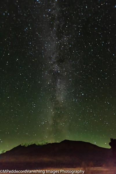 Milky Way & Aurora
