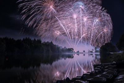 Ragley Hall Fireworks