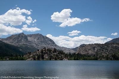 Carson Peak from Gull Lake