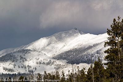 Mt. Washburn, Fire tower at summit