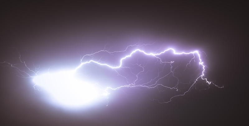 Epic Summer Lightning Show - by Jan Sedlacek - www.digitlight.co.uk