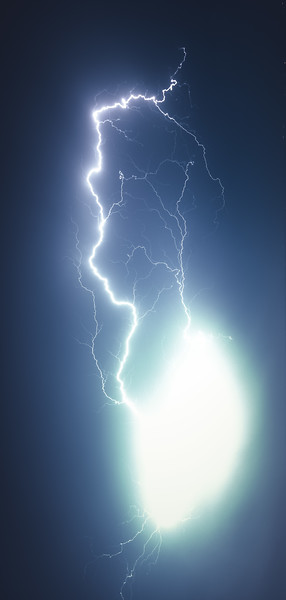 Epic Summer Lightning Show - by Jan Sedlacek - www.digitlight.co.uk