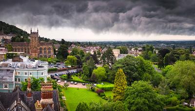 Stormy Skies Over Maverns - by Jan Sedlacek