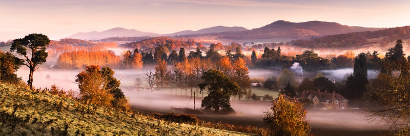 Malvern Hills from Eastnor