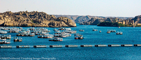 Boats to  Philae Island