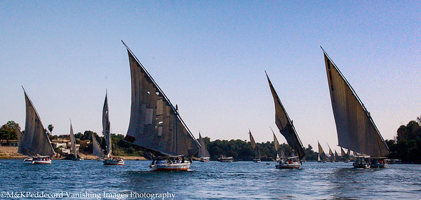Sailing on the Falucca