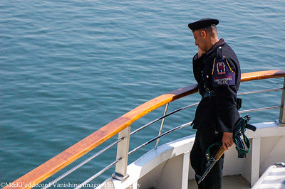 Our security on the Zahra River Cruzer